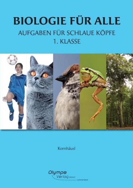 Biolgie für alle 1, Aufgabenf für schlaue Köpfe, Cover