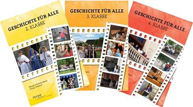 Geschichte Bücher 2. 3. und 4. Klasse