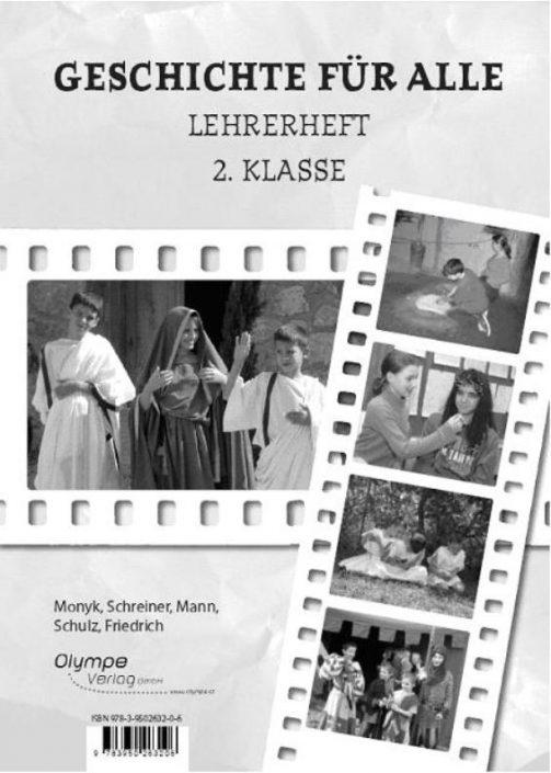 Geschichte für alle 2 - Lehrerheft, Cover