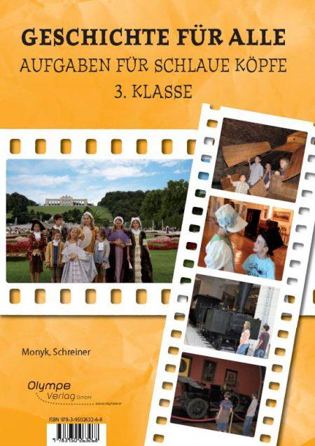 Geschichte für alle 3 - Aufgaben für schlaue Köpfe, Cover