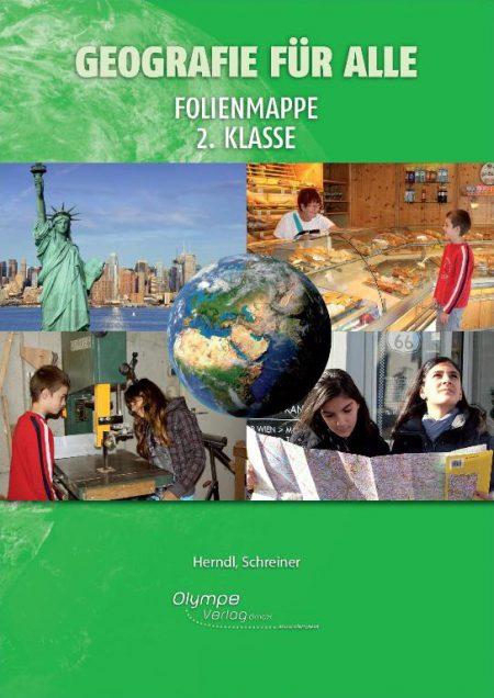 Geografie für alle 2, Folienmappe, Cover