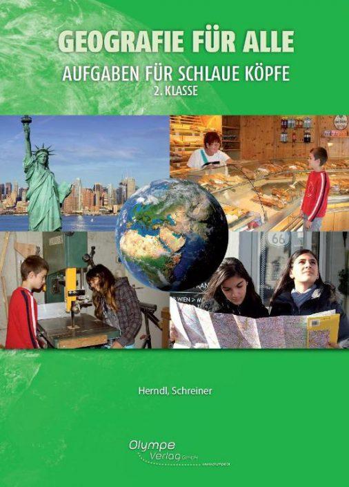 Geografie für alle 2, Aufgaben für schlaue Köpfe, Cover