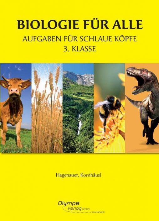 Biologie für alle 3, Aufgaben für schlaue Köpfe, Cover
