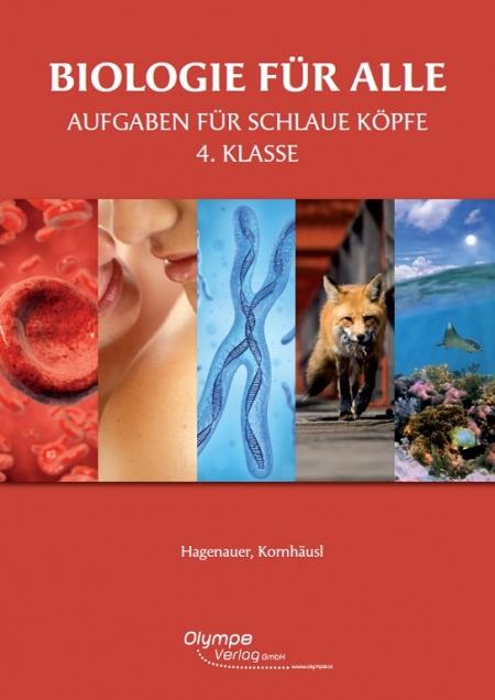 Biologie für alle 4, Aufgaben für schlaue Köpfe, Cover