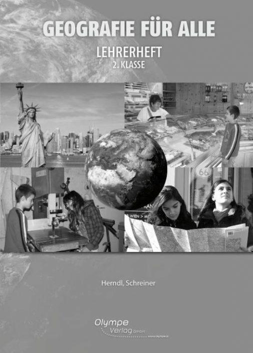 Geografie für alle 2, Lehrerheft, Cover