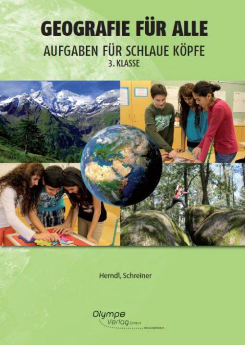 Geografie für alle 3, Aufgaben für schlaue Köpfe, Cover
