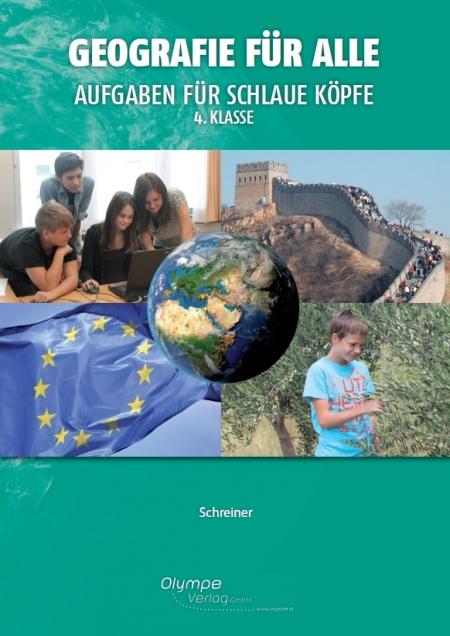 Geografie für alle 4, Aufgaben für schlaue Köpfe, Cover