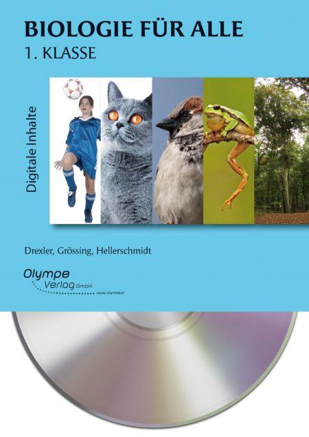 Biologie für alle 1, CD-ROM, Cover