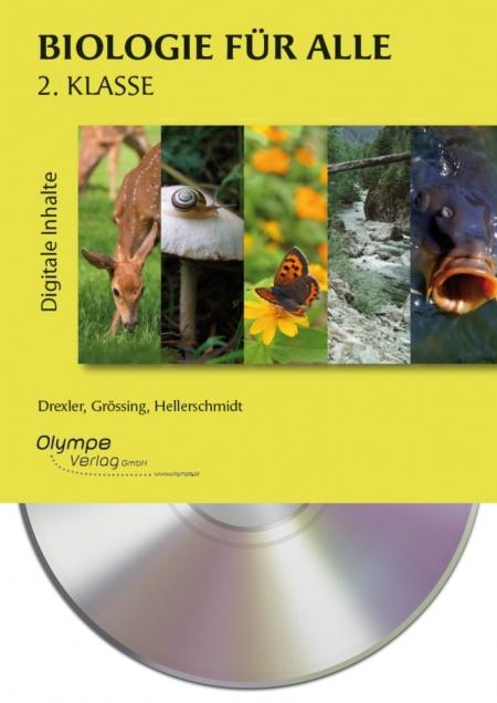 Biologie für alle 2, CD-ROM, Cover