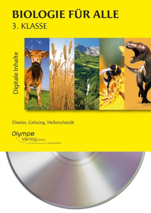 Biologie für alle 3, CD-ROM, Cover