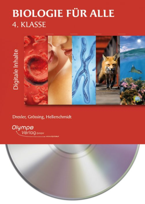 Biologie für alle 4, CD-ROM, Cover