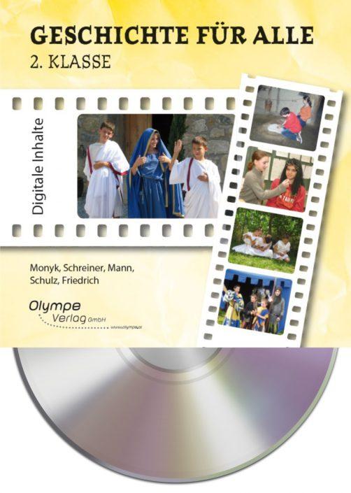 Geschichte für alle 2, CD-ROM, Cover