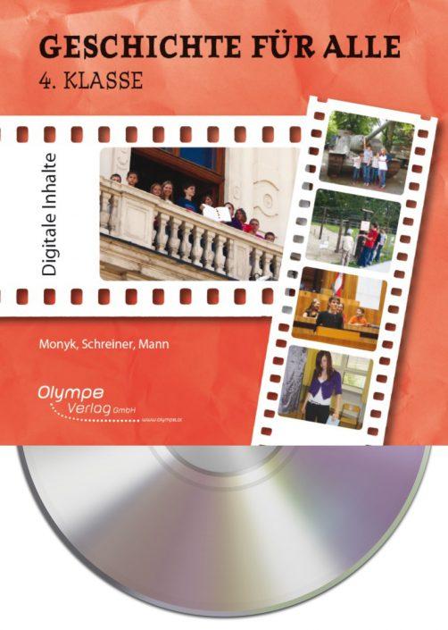 Geschichte für alle 4, CD-ROM, Cover
