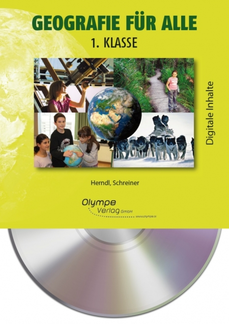 Geografie für alle 1, CD-ROM, Cover