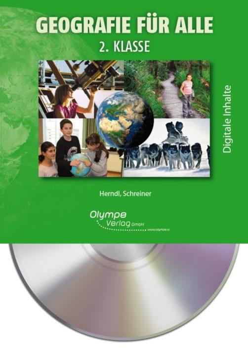 Geografie für alle 2, CD-ROM, Cover