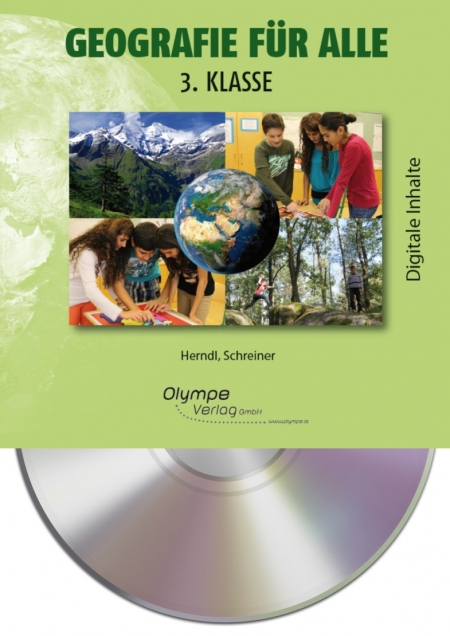 Geografie für alle 3, CD-ROM, Cover