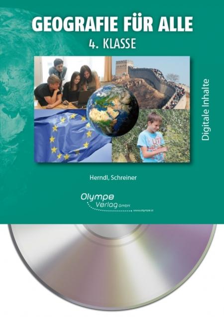 Geografie für alle 4, CD-ROM, Cover