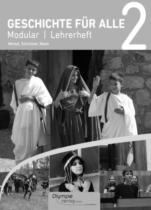 Geschichte für alle 2- Modular, Lehrerheft, Cover