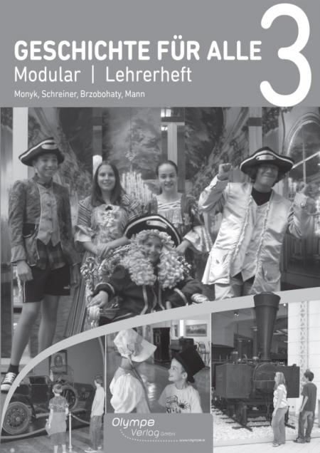 Geschichte für alle 3 Modular, Lehrerheft Cover